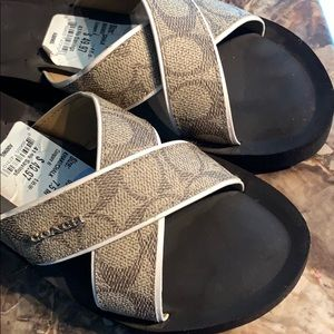 Coach Shoes - Coach Sandals like new